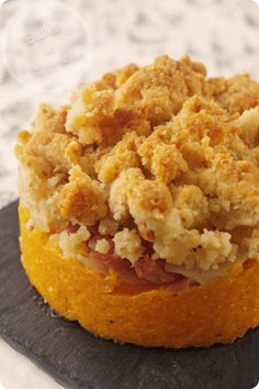 Butternut crumble, parmesan, bacon and onions - Vegan Dinner Party, Dinner Party Recipes, Lemon Biscuits, Healthy Food Alternatives, Parmesan, Lemon Cookies, Lemon Recipes, Bacon, Quick Easy Meals