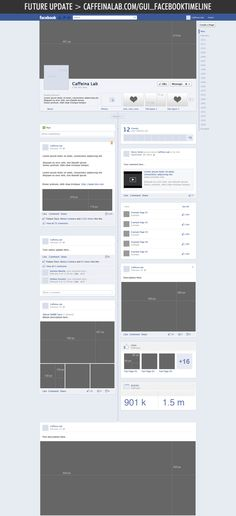 Download (for FREE) the .psd file of the New Facebook Timeline for brand pages!