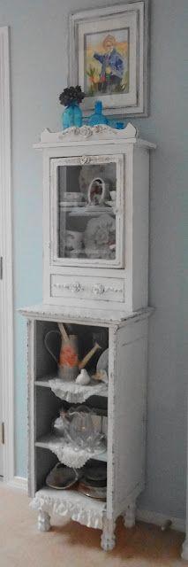 sweet little cabinet redo