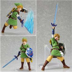 Link Figma action figure. Anime Figures, Action Figures, Geek Stuff, Link, Fictional Characters, Geek Things, Fantasy Characters
