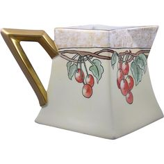 Bernardaud & Co. Art And Craft Design, Autumn Decorating, Cherries, Bone China, Lemonade, January, Arts And Crafts, Porcelain, Pottery