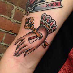 Matthew Houston as featured on Swallows & Daggers. www.swallowsndaggers.net #tattoo #tattoos #hand