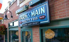 Park & Main Restaurant in Breckenridge, Colorado