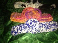 Handmade Crochet Infant/Baby headbands by LLCatsCrochet on Etsy, $12.00
