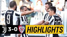 The football match between Juventus vs Cagliari. After a full one-sided Juventus match, the final result of the game is Juventus Cagliari. Watch Football, Football Match, Video Juventus, Italian League, Match Highlights, Baseball Cards, Sports, Hs Sports, Sport
