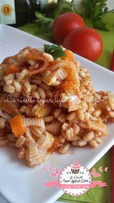Orzotto light al pomodoro e surimi (369 calorie) | Le Ricette Super Light Di Giovi