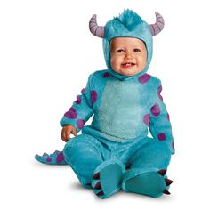 Monsters University James P Sullivan costume #Halloween #Costume #Disney #Disneyland #Sully #Pixar