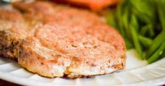 Pork sirloin chops are a cheaper cut of pork, with a lot of bone and tough muscle. If prepared correctly, pork sirloin chops can be tender and delicious. Pork Sirloin Chops, Thin Pork Chops, Center Cut Pork Chops, Boneless Pork Chops, Baked Pork Chops, Pork Tenderloins, Tender Pork Chops In Oven, Pork Recipes, Cooking Recipes