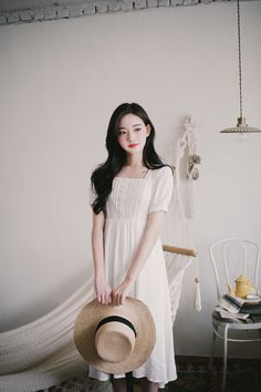 milkcocoa Very Beautiful Woman, Beautiful Asian Girls, Asia Girl, Babydoll Dress, Girl Model, Ulzzang Girl, Cute Girls, Pretty Girls, Asian Fashion