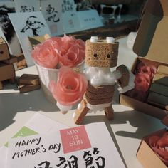 Printed some 🌹, wish all the super moms Happy Mother's Day! Happy Mother S Day, Happy Mothers, Happy May, Digital Fabrication, Super Mom, 3d Printing, Place Cards, Roses, Place Card Holders