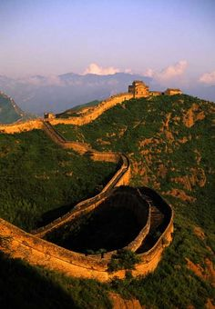 The Jinshanling section of the Great Wall of China.