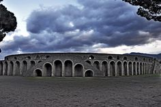 *POMPEII, ITALY ~ Amphitheatre of Pompeii