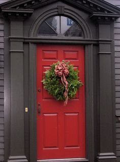 Beautiful red door!