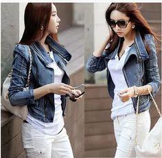 chaquetas en jeans con pedreria - Buscar con Google