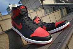 Air Jordan 1 High OG Bred http://www.equniu.com/2013/10/14/air-jordan-1-high-og-bred/