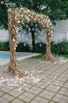 country wedding ideas on a budget More 36 Inspiring Backyard Wedding Ideas Quirky Wedding, Rustic Wedding, Fall Wedding, Nontraditional Wedding, Wedding Fair, Glamorous Wedding, Chic Wedding, Outdoor Wedding Decorations, Wedding Centerpieces