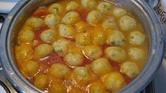 Jedinečná polévka s bramborový knedlíčky jako od Babičky připravená za 10 minut! | Vychytávkov