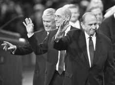 President Thomas S. Monson and his councilors Henry B. Eyring and Dieter F. Uchtdorf