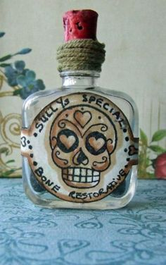"Bombshell Stamps Art Gallery - Search results - ""sugarskulls""/Voodoo Bottle"