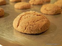 Whole Wheat Sweet Potato Gingersnaps {finding joy in my kitchen}