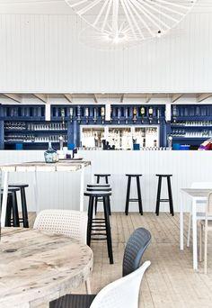 Cool beach club Scheveningen designed by Hubert Crijns Architect www.emanuelnetwork.com/?ad=pinitbb