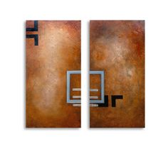 Synchronism - the falling out, 380 x 760mm each, R3200 My art for sale