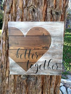 This cute sign measures 14 X 14. This is a made to order item so the exact sign pictured is not available, but one similar will be made. There may be