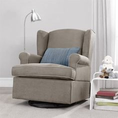 Baby Relax Quimby Swivel Glider | Overstock.com Shopping - The Best Deals on Gliders & Ottomans