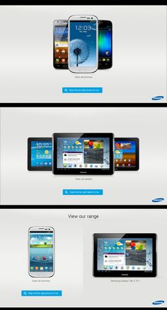 Samsung in-store product finder by Toby Caves, via #Behance #Digital