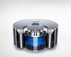 dyson 360 eye robot vacuum cleaner uses advanced navigation technology