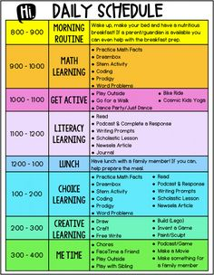 Digital Learning - My Top Tips for Keeping Students in an Engaging Routine - Lessons for Learning Classroom Schedule, Preschool Schedule, Kids Schedule, Preschool Curriculum, Preschool Learning, Learning Resources, Teaching Ideas, Preschool Prep, Classroom Resources