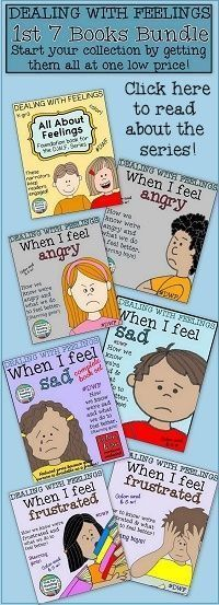 All 7 #DWF books in one #bundle! Teach kids how to manage anger, sadness and frustration with stories. Color and b&w #SaveWithBundles $