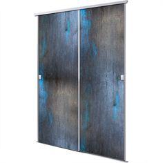 placard aux portes coulissantes d coratives portes placard pinterest assaisonnement. Black Bedroom Furniture Sets. Home Design Ideas