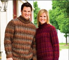 His & Hers Outdoor Sweaters