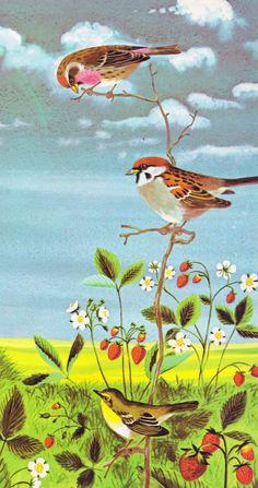 "from ""I Am a Bunny"" by Ole Risom + Richard Scarry // via Vintage Kids' Books My Kid Loves: I Am a Bunny"