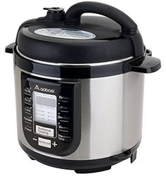 Aobosi YBW40-80B1 Programmable Pressure Cooker 4Qt/800W Stainless Steel Cooking Pot Digital Cooker