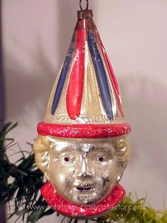 Antique Glass Christmas Ornaments -