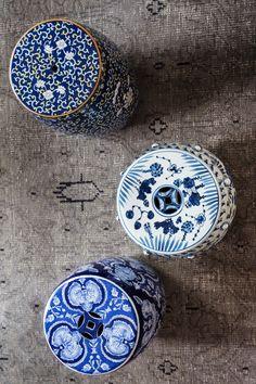 Chinese garden stools