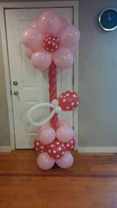 Baby shower column
