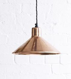 The Thea Pendant Light In Copper - ceiling lights