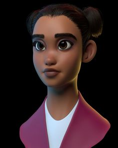 ArtStation is the leading showcase platform for games, film, media & entertainment artists. Cute Disney Characters, Female Characters, Cartoon Characters, Fictional Characters, 3d Model Character, Character Art, Character Design, 3d Human, Monster Art