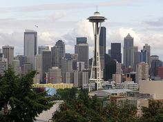 View of Seattle, From Kerry Park, Queen Anne, Seattle, via Flickr.