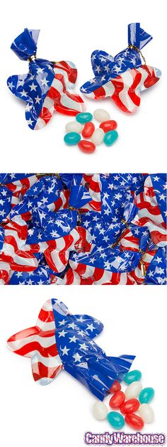 Cute star-shaped cellophane bags for all those 4th of July goodies... and if you have any left over, maybe for the debate party! http://www.candywarehouse.com/products/usa-star-shaped-cellophane-bags-with-jelly-beans-24-piece-bag/?utm_source=Pinterest&utm_medium=Social&utm_campaign=July4th