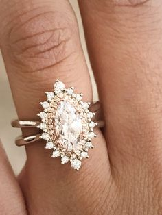 What a beautiful ring!