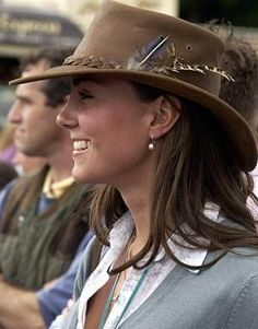 Kate Middleton =she looks like she would fit in perfectly with the Australian women.