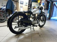 ČZ 125t  r.v.1947 - 1 Mopeds, Vintage Looks, Cars And Motorcycles, Rv, Bike, Bicycle, Motorhome, Bicycles, Camper