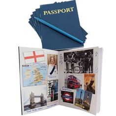 Passport Books for Kids | Hygloss Products