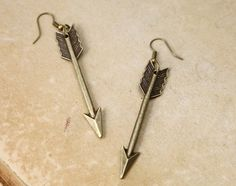 The Hunger Games Inspired Arrow earrings by MyTeenageDream on Etsy, $1.99