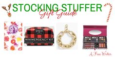 Stocking stuffer gifts all under $50!!