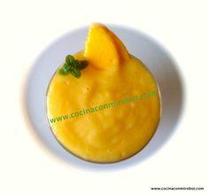 Crema de mango Thermomix